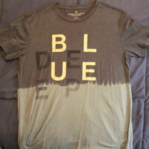 Deep Blue American Eagle T-Shirt